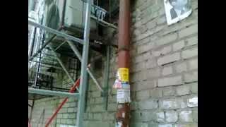Демонтаж внешнего блока кондиционера.(, 2012-11-19T22:45:07.000Z)