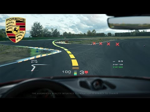 Porsche and WayRay Announce Cooperation for Augmented Reality Head-up Display