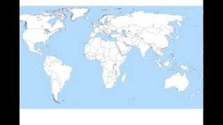 Cartina Del Mondo Con Le Diverse Religioni.Mappa Religioni Nel Mondo