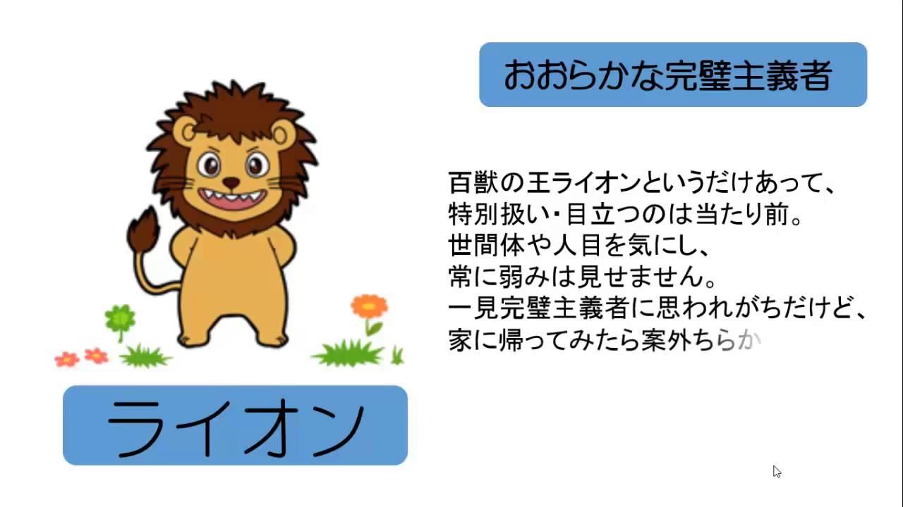 動物占いライオンの性格はオシャレ好きのこだわり …