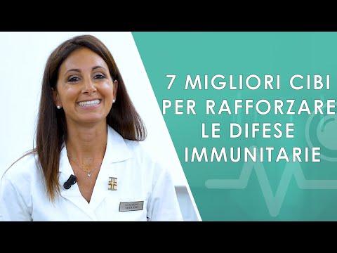 I 7 migliori cibi per rafforzare le difese immunitarie.