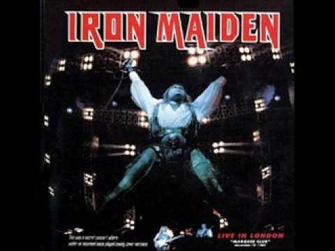 Iron maiden -Reach out- Live marquee club 1985
