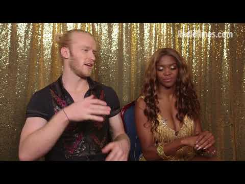 Strictly 2017: Jonnie Peacock and Oti Mabuse