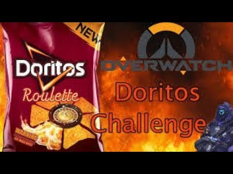 OVERWATCH DORITO ROULETTE CHALLENGE...WITH A TWIST #1