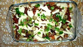 Beef Macaroni and Cheese | Beef mac and cheese | Cheesy Beef & Macaroni