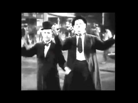 dick und doof tanzen
