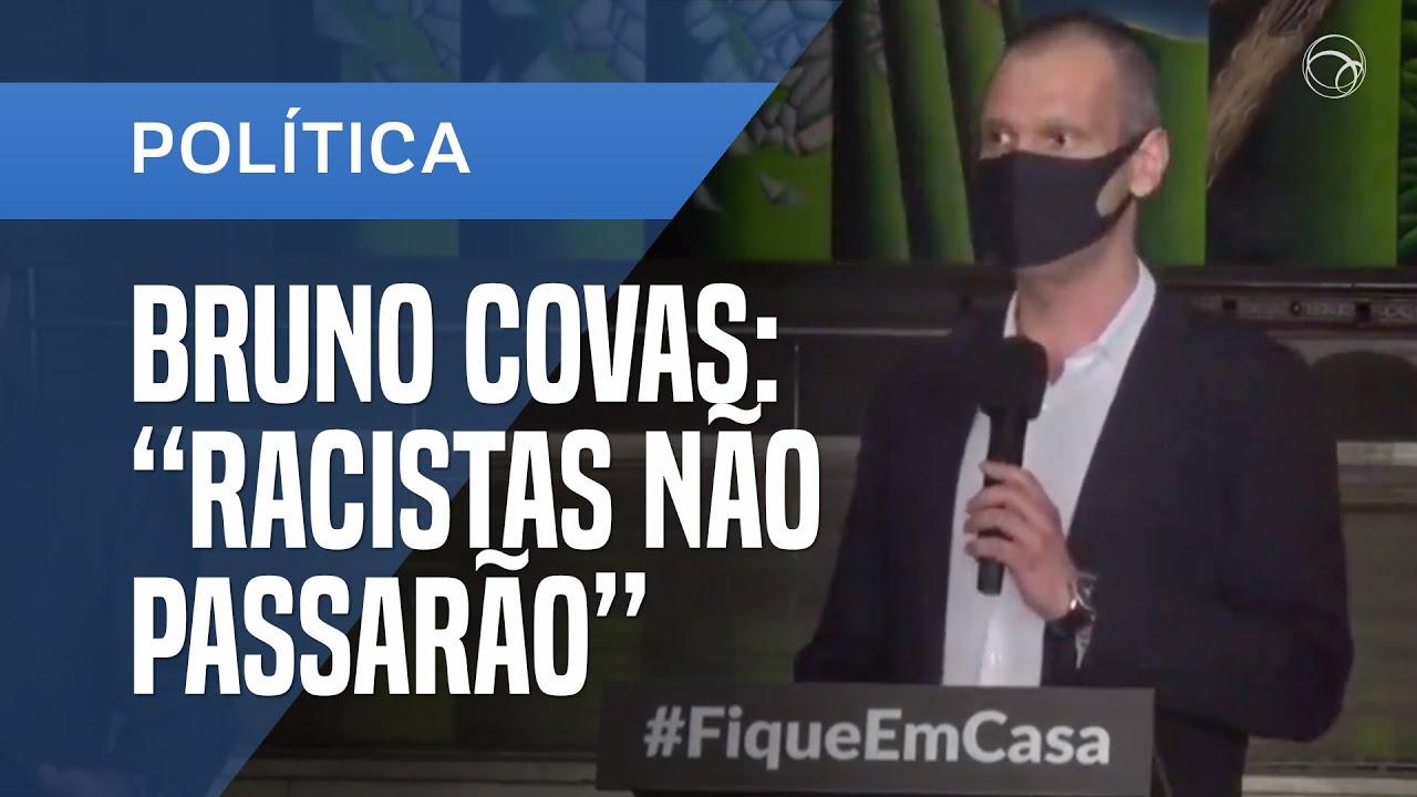 BRUNO COVAS ENGROSSA CORO CONTRA O RACISMO E DESTACA DESIGUALDADE NO BRASIL - online