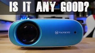 Is This $110 Projector Good for Movie Night?! | Vankyo Cinemango 100 Review |