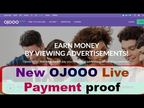 New Ojooo after Update Live Payment proof Join Now