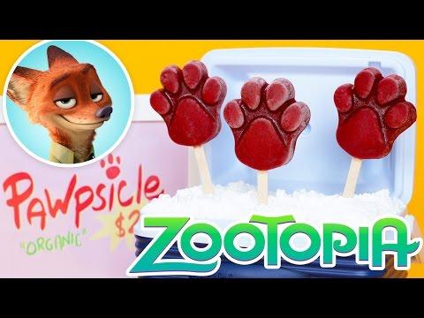 ZOOTOPIA PAWPSICLES ft Teala Dunn! - NERDY NUMMIES