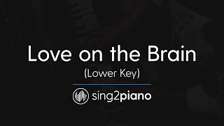 Love On The Brain Lower Piano Karaoke Rihanna