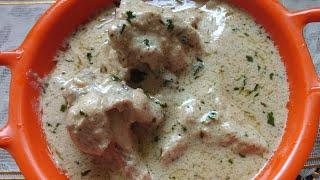 Chicken Malai Handi Recipe | Chicken Malai Gravy Recipe | Ghare's kitchen