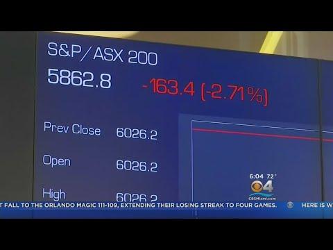 Stock Market Plunge Worries Investors