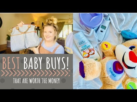 BEST BABY BUYS! | NEWBORN AND ABOVE