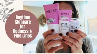 Acure Skincare Routine for SENSITIVE, Dry Skin + Fine Lines!