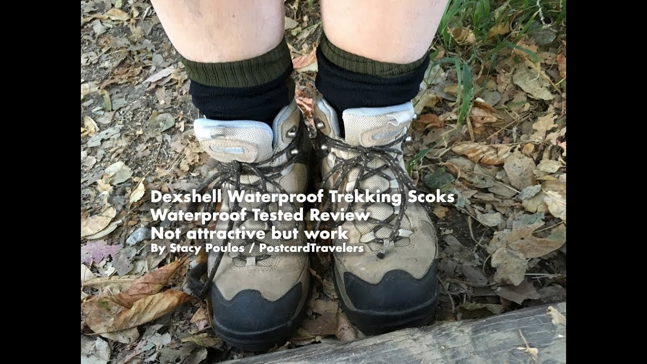 e6fbb7461 Dexshell Waterproof Hiking and Kayaking Socks- Tested and Review Not  attractive But Works! By Stacy Poulos PostcardTravelers | Postcard  Travelers Adventure ...