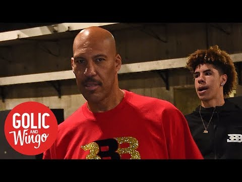 'What in the hell' has LaVar Ball gotten LiAngelo and LaMelo into? | Golic & Wingo | ESPN
