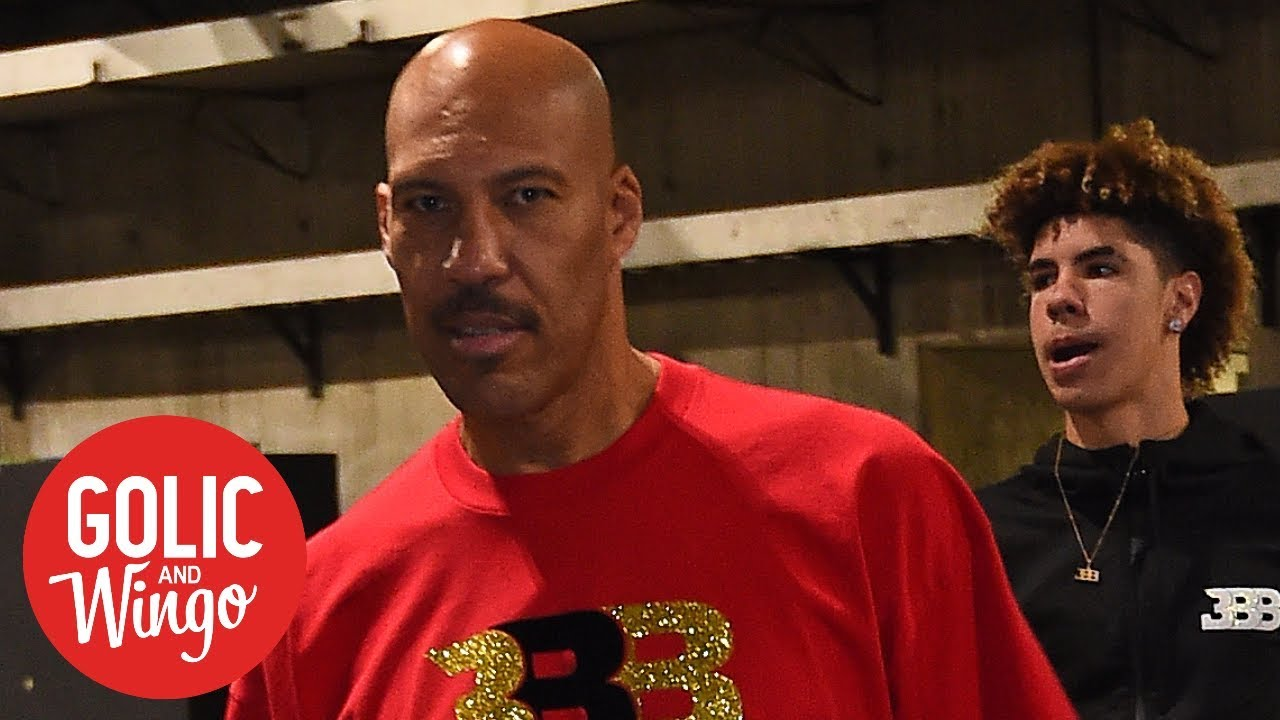 945f86846599 What in the hell  has LaVar Ball gotten LiAngelo and LaMelo into ...