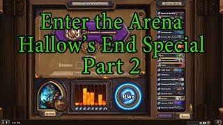 Hearthstone: Enter the Arena Hallow