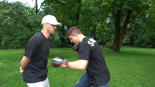 Michael SMOLIK boxt Daniel Abt - Er kassiert ordentlich (zu geil)