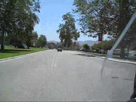 Highspeed ride through California State University Channel Islands (CSUCI)