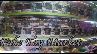Fake funko pop, pokemon, disney, fortnite, lego, hot toys, pubg etc. Market hunt china.