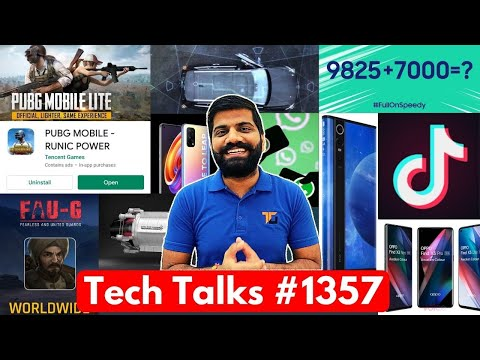 Tech Talks #1357 – TikTok Comeback, PUBG On Play Store, FAUG Update, Realme X7 Pro, F62, Nokia 5.4