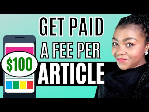 Make Money Online (2021) By Writing Articles/Earn Paypal Money