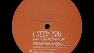 Dave Gahan – I Need You (Gabriel & Dresden Plugged Dub)
