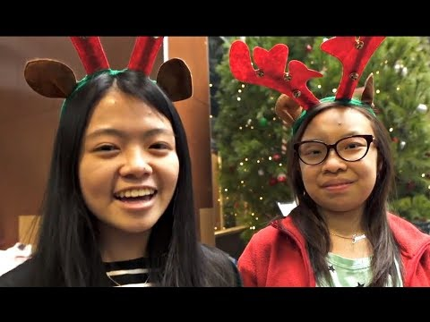 Students Volunteer for McMaster Christmas Market