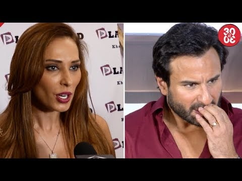 Iulia Gets Angry When Asked About Salman Khan | Saif Suggests Special Changes In 'Chef'