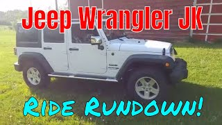 2018 Jeep Wrangler JK Ride Rundown Test Drive Review 4x4
