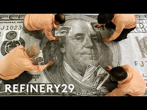 How Money Is Made | How Stuff Is Made | Refinery29