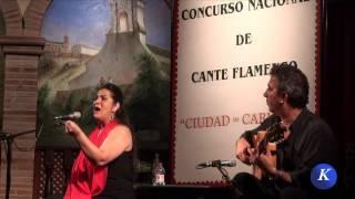 Flamenco フラメンコ: Pastora Olivera , por farruca - Carmona XXX Concurso N. Cante Flamenco
