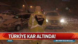 Türkiye kar altında - Atv Haber 26 Aralık 2018