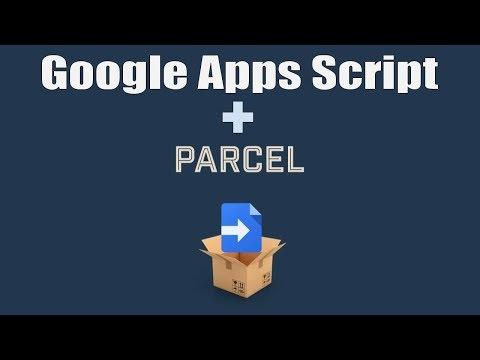 Apps Script: CLASP and Parcel-bundler Wordcloud Project