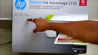 HP DeskJet Inkadvantage 2135 printer