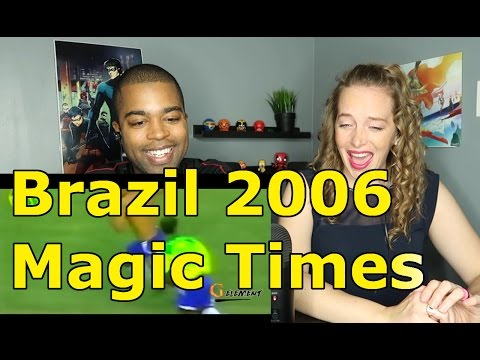 Brazil 2006 ● Magic Times ● Ronaldinho ● Adriano ● Ronaldo ● Kaká ● R.Carlos ● Robinho  (Reaction 🔥)