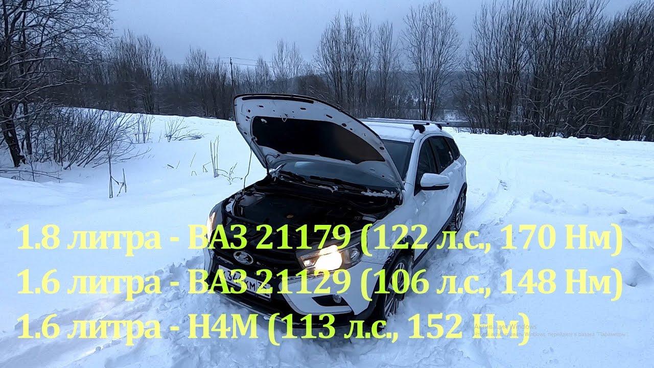LADA Vesta SW Cross 2020. КРИТЕРИИ выбора СИЛОВОГО АГРЕГАТА. 1.6 или 1.8, МКПП, АМТ, или АТ?