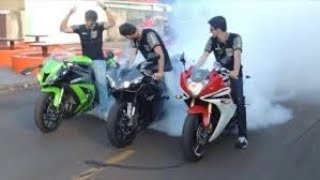 Motorcycle Fail Compilation - Stupid, Funny Drivers
