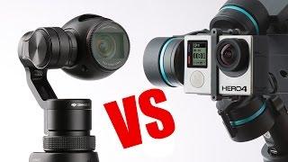 DJI OSMO VS GOPRO 4 Black (4K 30FPS) Night Shot Reviews - HeliPal.com thumbnail