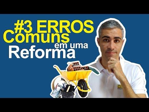 3 Erros Comuns em uma Reforma
