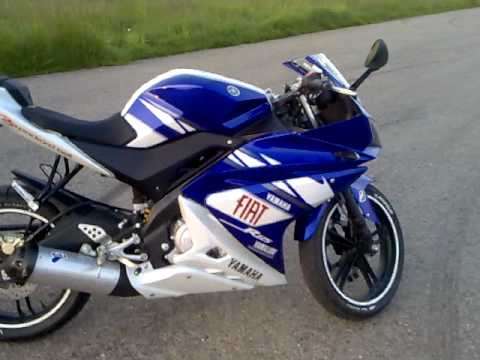 yamaha yzf r125 rossi replica youtube. Black Bedroom Furniture Sets. Home Design Ideas