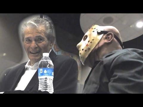 Jason Voorhees asking Ted White about Corey Feldman