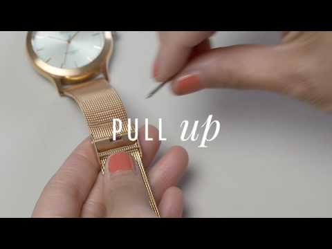 How to adjust your mesh strap