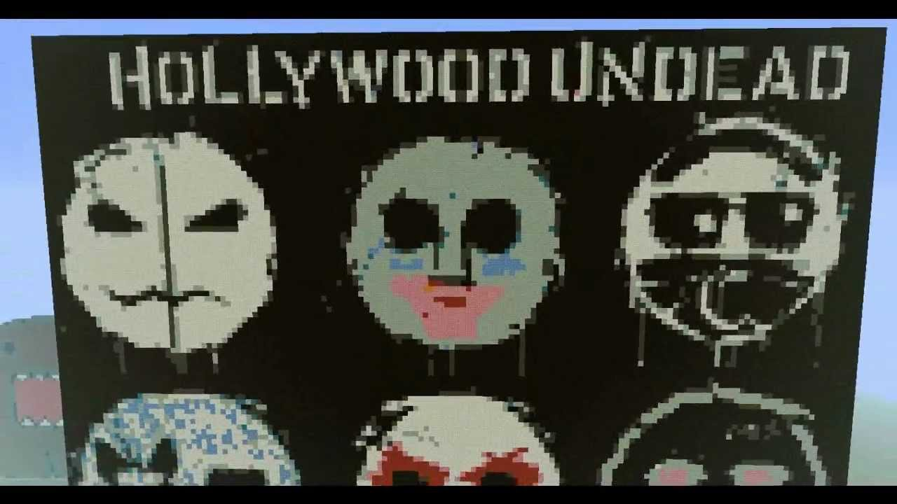 Minecraft Pixel Suggest EP14 Hollywood Undead YouTube