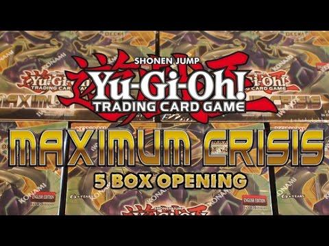 Yugioh 5 Maxium Crisis Box Opening