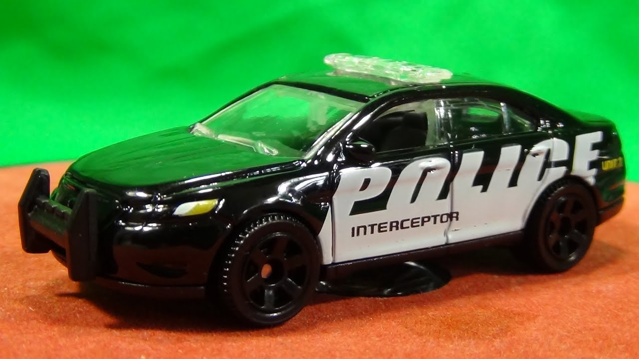 HumWheels: Variation: Ford Police Interceptor Matchbox 2014