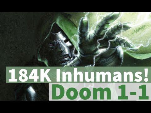 184K Inhumans! Doom