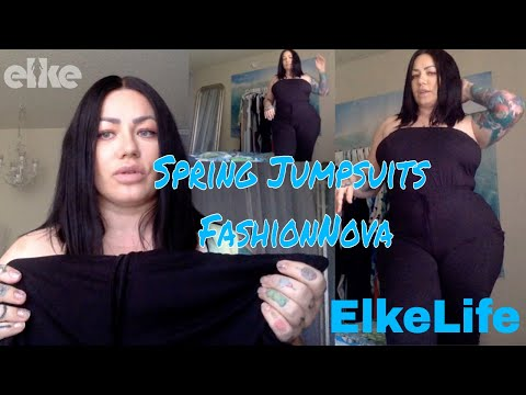 Review: NEW Spring 2019 JUMPSUITS FashionNova!!! | Elke Life